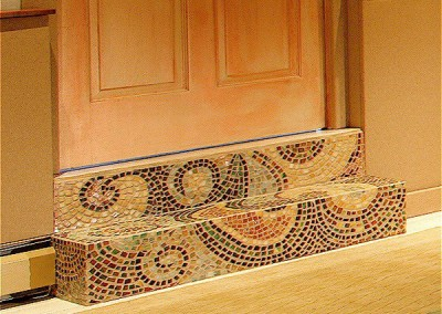 Paisley Steps Mosaic