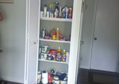 Pantry Fireplace - Before